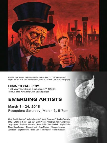 EMERGING ARTISTS • März 2018 • Limner Gallery, Hudson (USA)