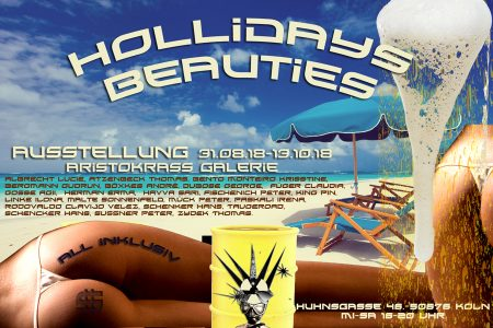 HOLLIDAYS BEAUTIES • Vernissage: 31. August 2018 ab 18:00 Uhr