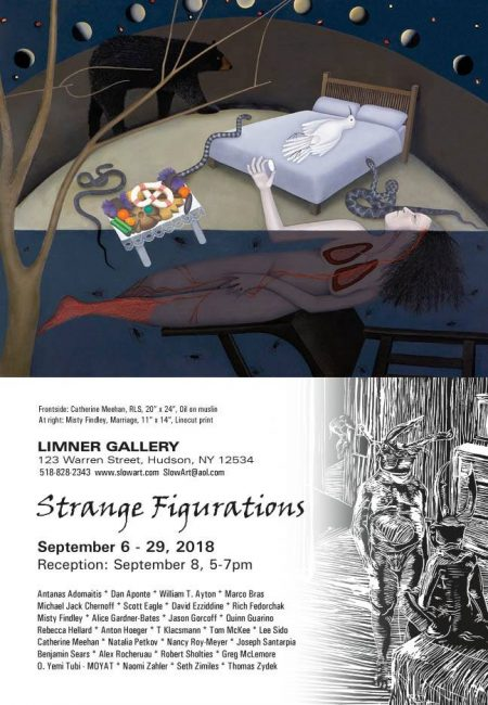 STRANGE FIGURATIONS • September 2018 • Limner Gallery, Hudson (USA)