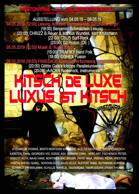 KITSCH DE LUXE • Mai 2019 • Eventlocation Meyers, Köln