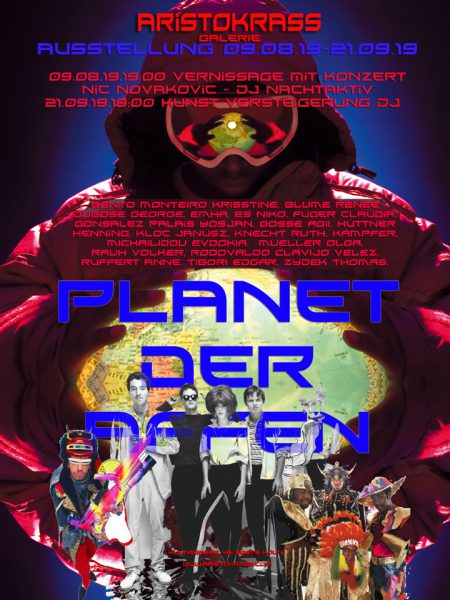 PLANET DER AFFEN • Vernissage: 09. August 2019 ab 19:00 Uhr
