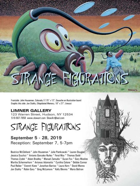 STRANGE FIGURATIONS • September 5 - 28, 2019 • Reception: September 7, 5-7pm